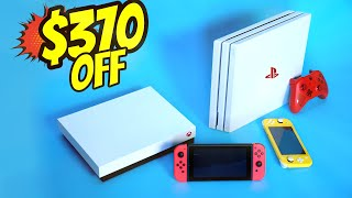 BEST Nintendo, Xbox, and PS4 Black Friday and Cyber Monday Deals!!