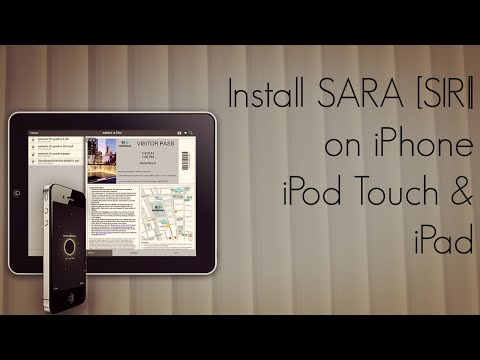 Install SARA [SIRI] Through Cydia Source on iPhone iPod Touch & iPad