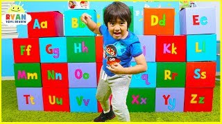 Learn Alphabet for Kids and Colors with ABC Letters Surprise Boxes!!