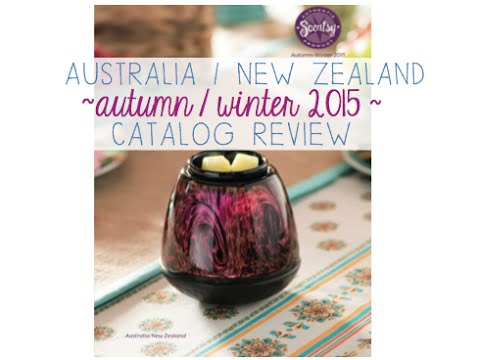 Scentsy New Zealand & Australia Catalog Review!