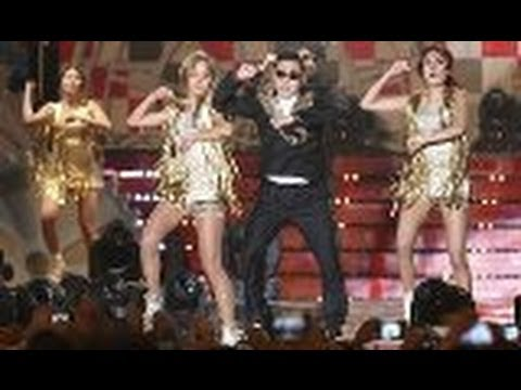 A Taste of PSY Gangnam Style at Yeongam F1 Race