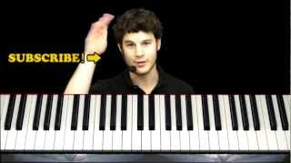 """How to Play """"Canon in D"""" (Pachelbel) Piano Tutorial w/ Sheets!"""