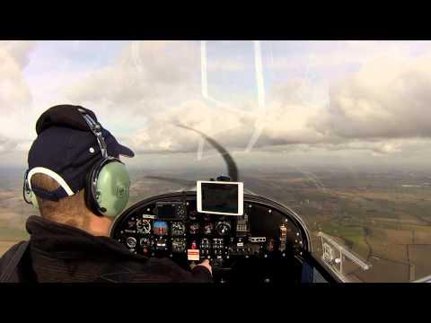 GoPro HD - EV97 Team Eurostar Flight - Includes ATC and cockpit chatter