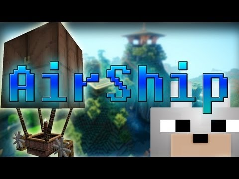 Minecraft Mods - Steampunk Airship 1.4.6 Review and Tutorial