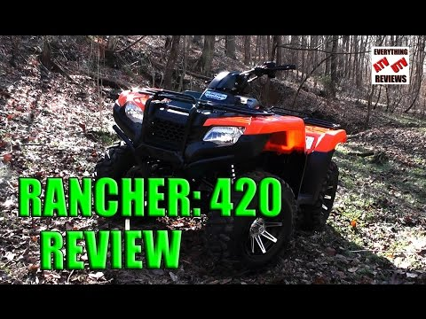 Honda Rancher 420 4X4: Test Review: Latest Generation 2014-2016 Rancher Offroad Limits