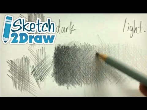 Cross-Hatching Drawing Lesson