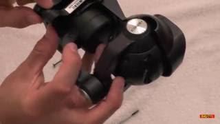 Yuneec Typhoon H Crash Repair - Camera Rail Repair