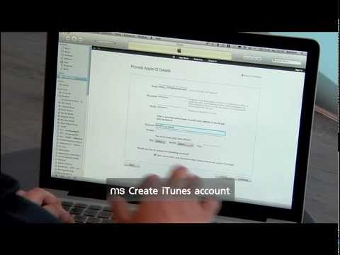 1. การ Install iTunes และการ Create iTunes Account
