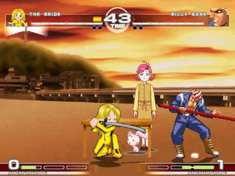 MUGEN : Kill Billy The Bride vs Billy Kane