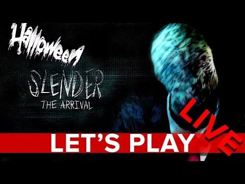Slender: The Arrival - Halloween Let's Play LIVE - Eurogamer