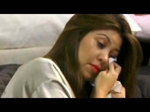 Kourtney Kardashian cries over comments about her weight