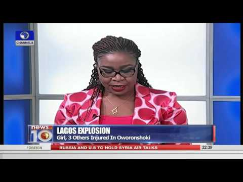 News@10: Lagos Explosion: Girl, 3 Others Injured In Oworonshoki 11/10/15 Pt. 3