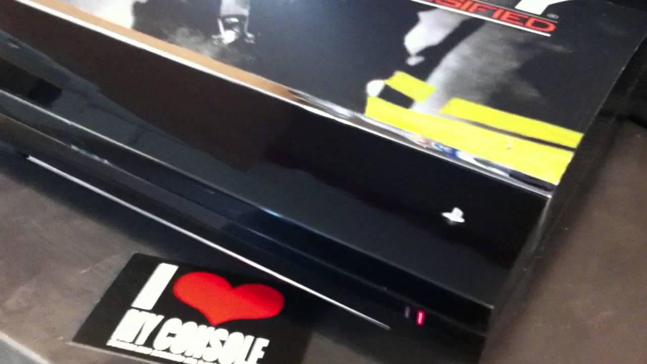 Lecteur Blu Ray Ps3 Fat Custom Ps3 Fat Cache Lecteur