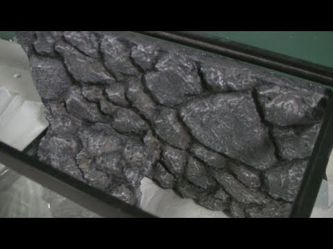 Rock Wall background tutorial for reptile cage