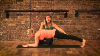 Pregnancy exercises - The Plank