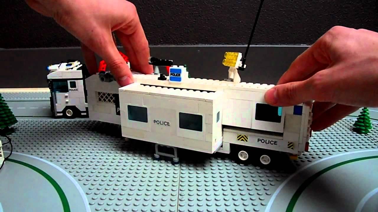 Police Car Lego Lego City Police Truck Custom