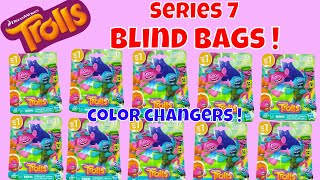 Dreamworks Series 7 Trolls Blind Bags Opening Poppy Branch Surprise Toys Review