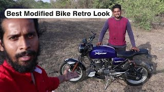 Best Modified Bike Retro Look | BSB VLOGS