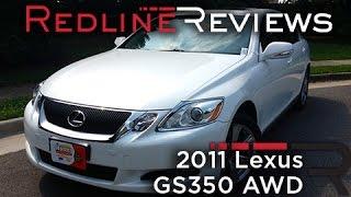 2011 Lexus GS350 AWD Review, Walkaround, Exhaust, & Test Drive