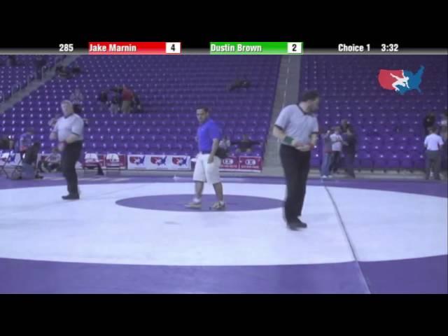 Cadet 285 - Jake Marnin (se polk) vs. Dustin Brown (West Lyon)