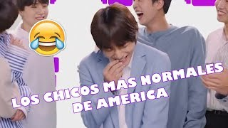 BTS EN AMERICA (CRACK) + MOMENTOS DIVERTIDOS INNOLVIDABLES