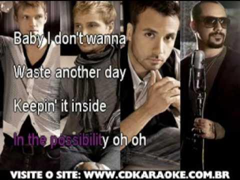 Backstreet Boys, The   Inconsolable