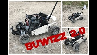 LEGO RC BUGGY MK2 BUWIZZ 2.0 + BUGGY_MOTOR - JUMPS AND DRIFTS