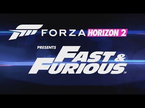 #1 Zagrajmy w Forza Horizon 2 Fast Furious PL Nitro i wyścig ze śmigłowcem bojowym 1080P