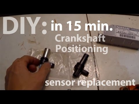 2005 Nissan Altima crankshaft positioning sensor replacement DIY