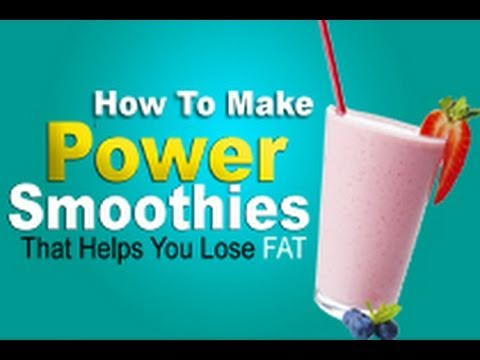 Smoothies that Help Your Burn Fat Fast!