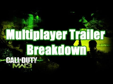 Modern Warfare 3 Multiplayer Trailer Breakdown
