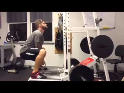 Pit Shark Double Handle Squats