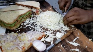 INDIA'S MOST CHEESIEST Sandwich | Mayo Cheese Grilled Sandwich | Indian Street Food