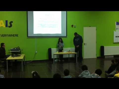 Hiba Saadeh in food presentation