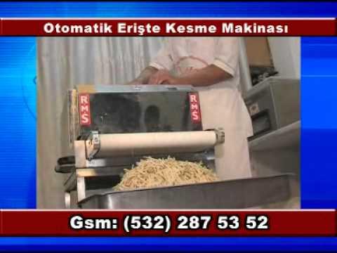 R.M.S - Remteks - Otomatik Erişte Kesme Makinesi