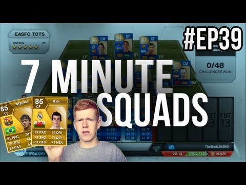FIFA 13 7 Minute Squads #EP39 REAL MADRID BALE