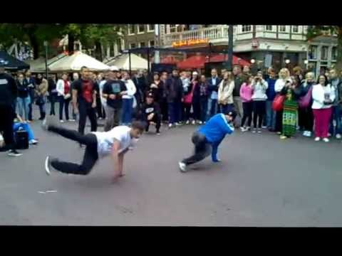 Break Dance Leidseplein Amsterdam 2012