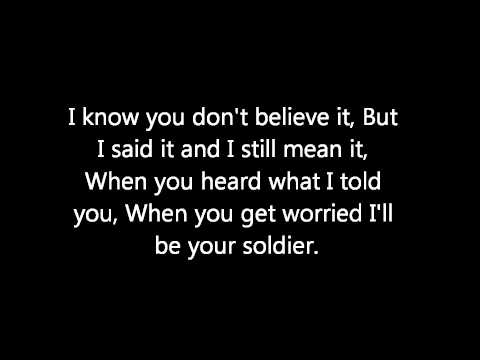 Soldier - Gavin Degraw (Lyrics)