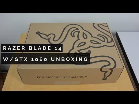 Razer Blade w/GTX1060 Unboxing & Impressions
