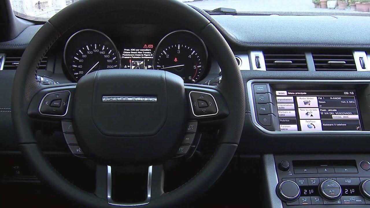 2014 Range Rover Evoque 9 Speed Interior Review