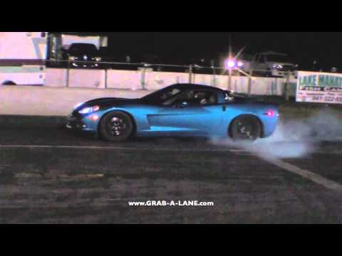 511whp Turbo Civic vs. C6 Corvette w/ Cam and Bolt-ons: GRAB-A-LANE.CO