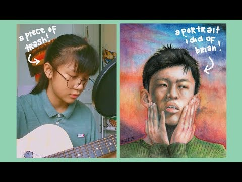 an acoustic cover: Glow like dat by Rich Chigga ✨