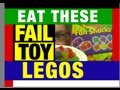 "Lego ""Epic Fail"" Fun Snacks Funny Review Video by Mike Mozart of JeepersMedia"