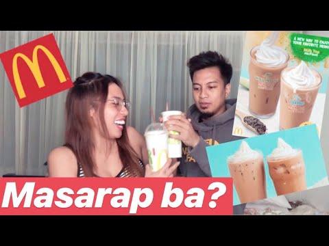 McDonald's NEW MILK TEA FLOAT 2019 | REVIEW + TASTE TEST | Gyl & Ken VLOGs