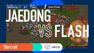 [2010 GF]Starcraft: Semi-Final/Set 2- Jaedong (KR) vs.  Flash(KR) /English