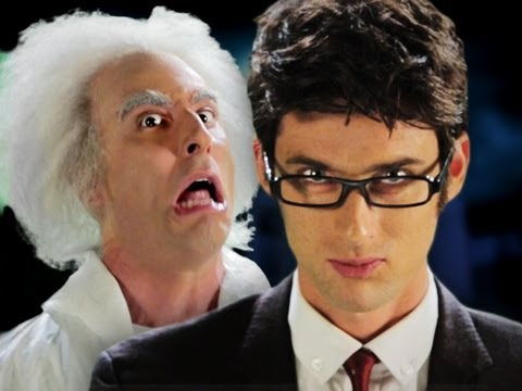 Doc Brown vs Doctor Who.  Epic Rap Battles of History Season 2. Music Videos