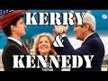 ケリー国務長官が岩国基地に到着・ケネディ親子が出迎え G