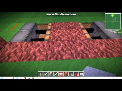 Как сделать в майнкрафте ловушку в полу - Усадьба