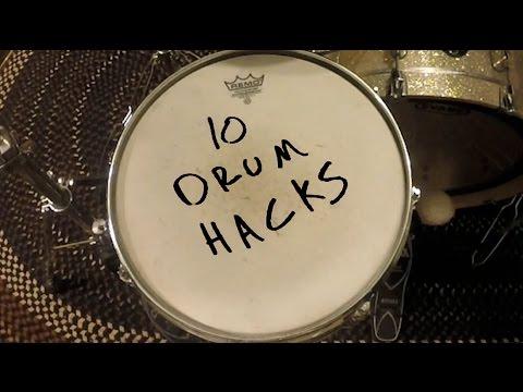 10 Drum Hacks