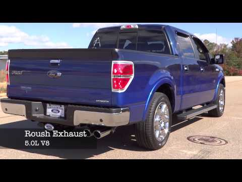 Ford F150 Roush Exhaust 5.0L V8 Sound